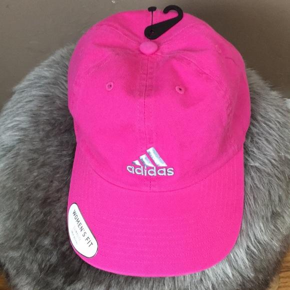 ba2c7f1e94f adidas Accessories - Adidas Climalite pink women s cap
